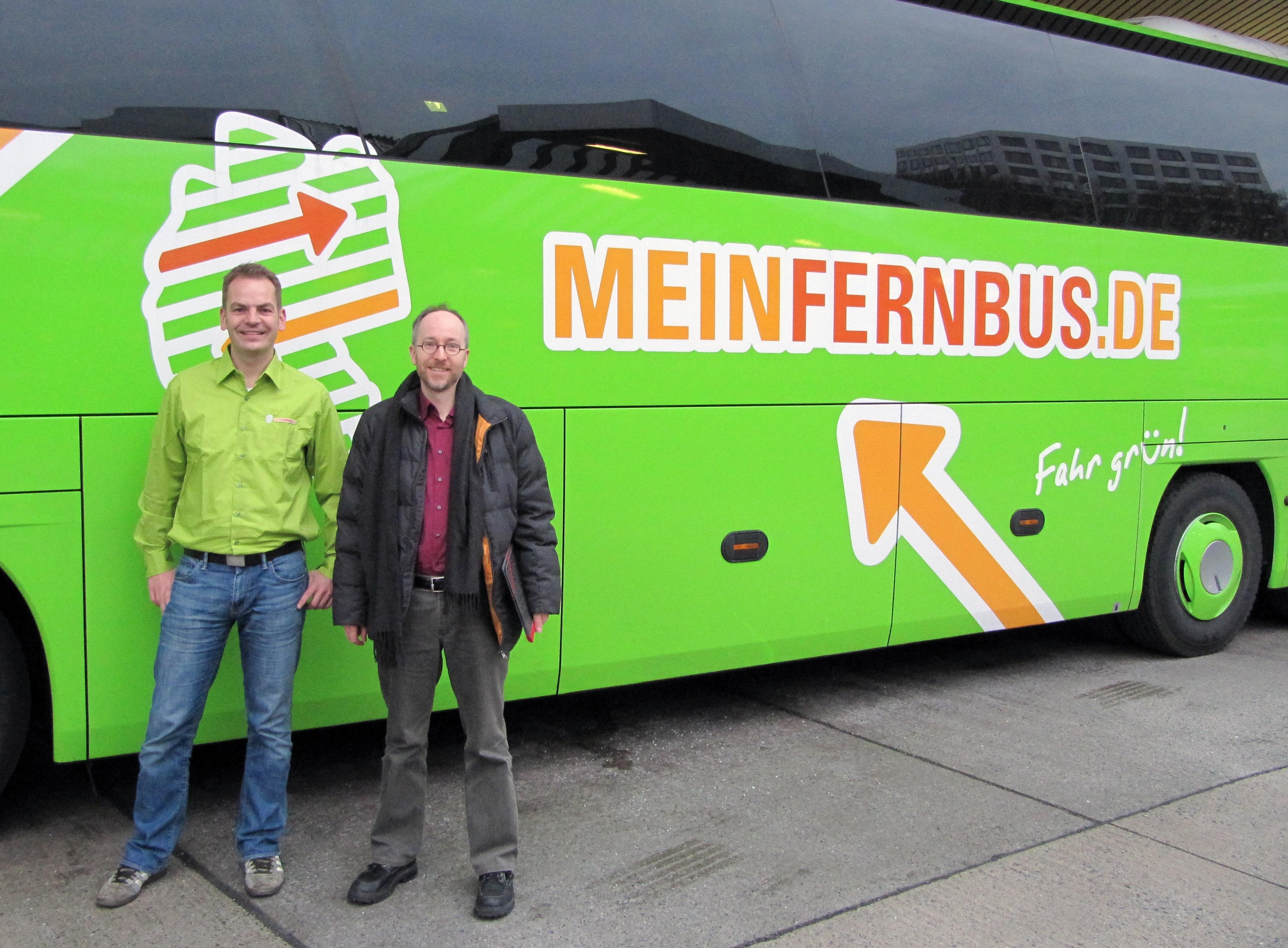 ZOB Berlin MeinFernbus 19.02.2014