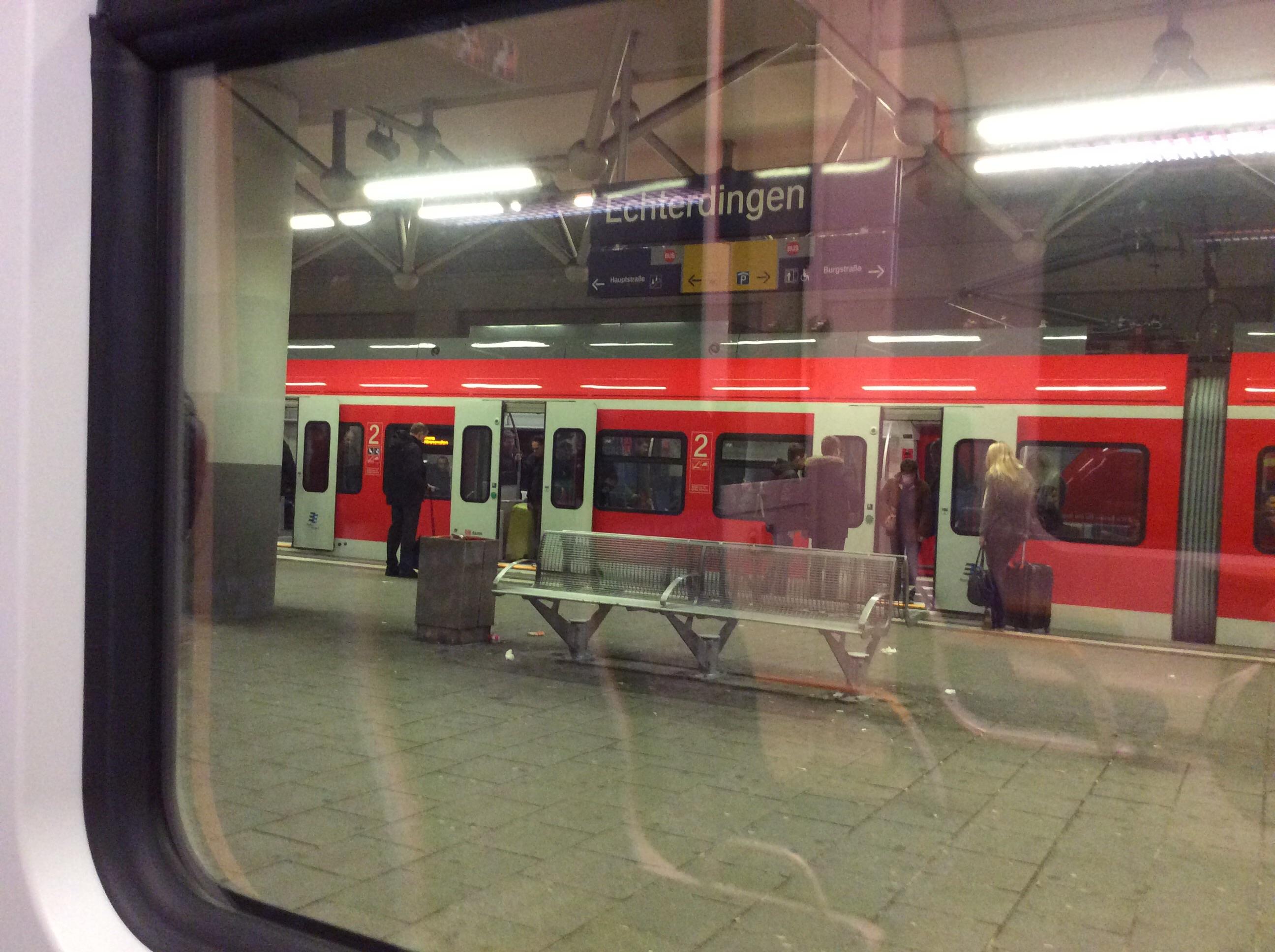 Bahnhof Echterdingen