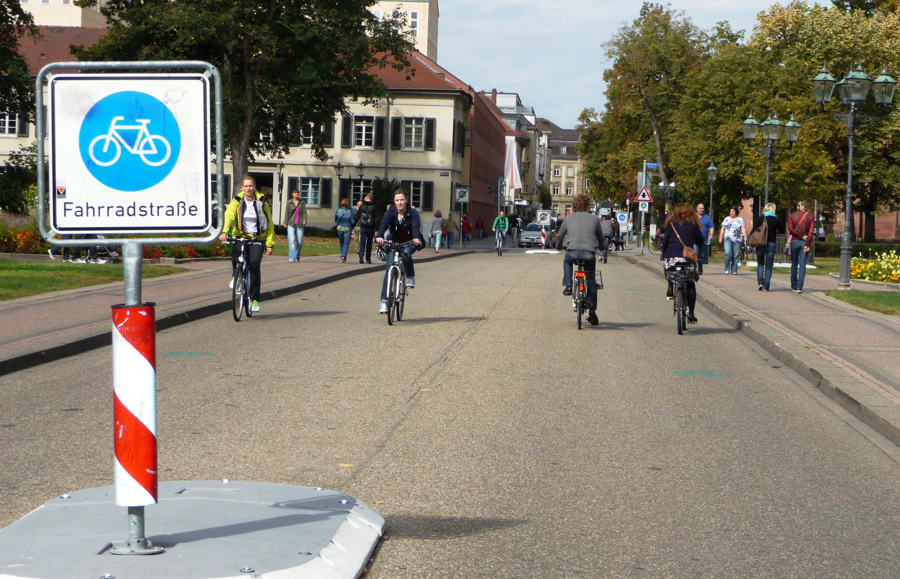 Fahrradstraße KA 15.09.2012