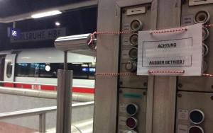 Zugstörung Karlsruhe