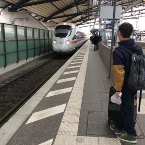 Enger Bahnsteig 1 Erfurt
