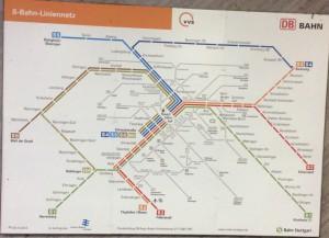 S-Bahn Netzplan