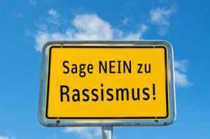 Sage Nein zu Rassismus Ortstafel 01
