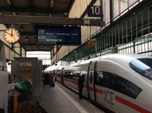 Stuttgart Hbf. Gleis 10