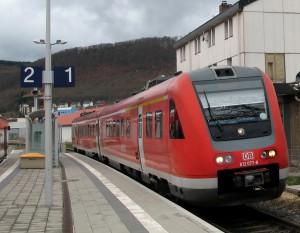 Neigetecznik-Zug Bild von Johannes