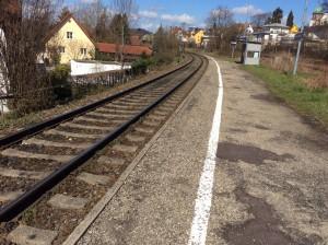 Aeschach Bahnsteig 1