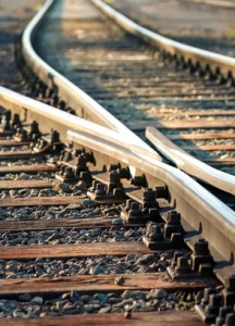 Schienen Bahnverkehr