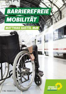 Broschüre barrierefreie Mobilität Cover