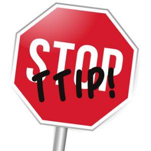 Stopschild, Stop TTIP