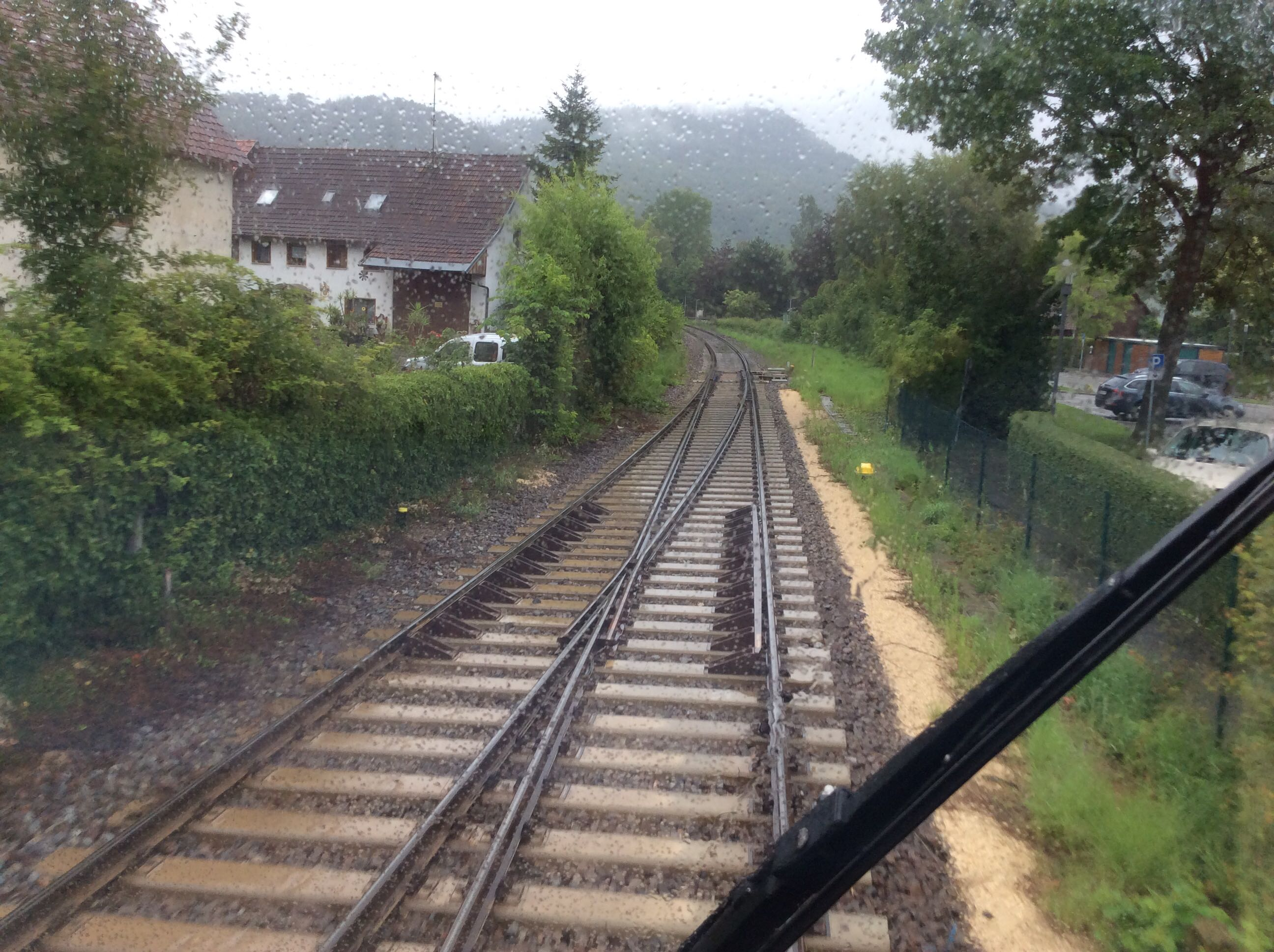 Sperrung Rheintalbahn