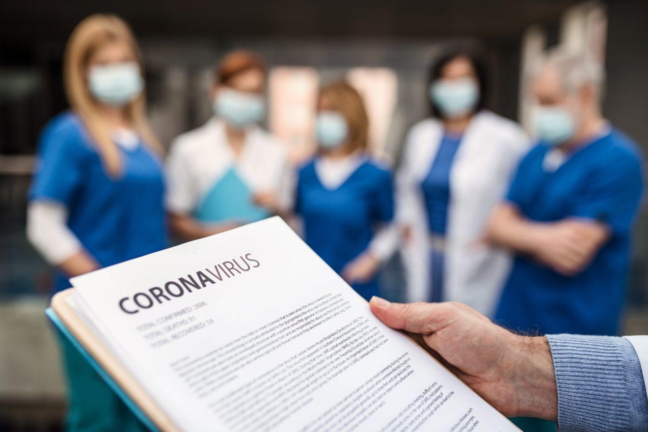 Corona Pflegekräfte