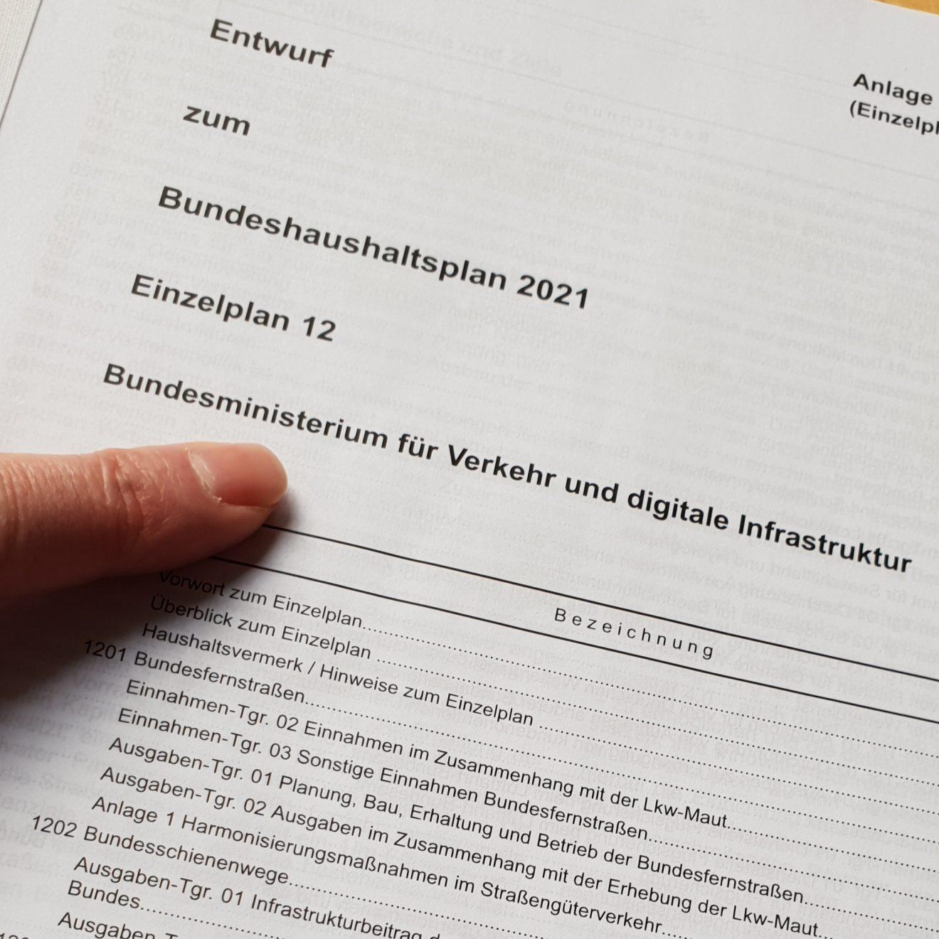 Foto Bundeshaushalt