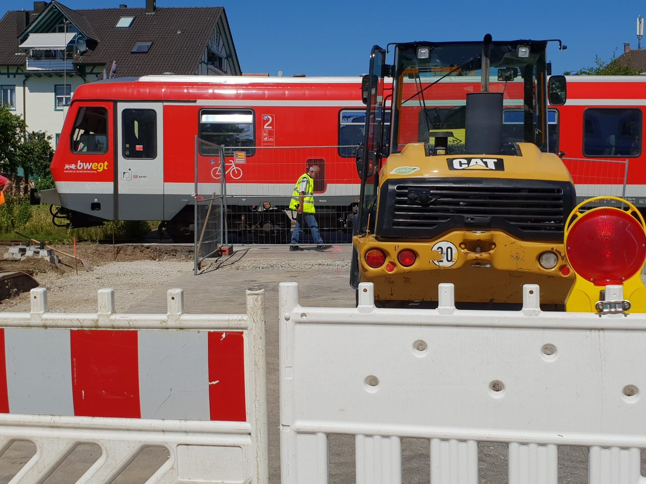 Bauarbeiten Bahnübergang Nonnenhorn2
