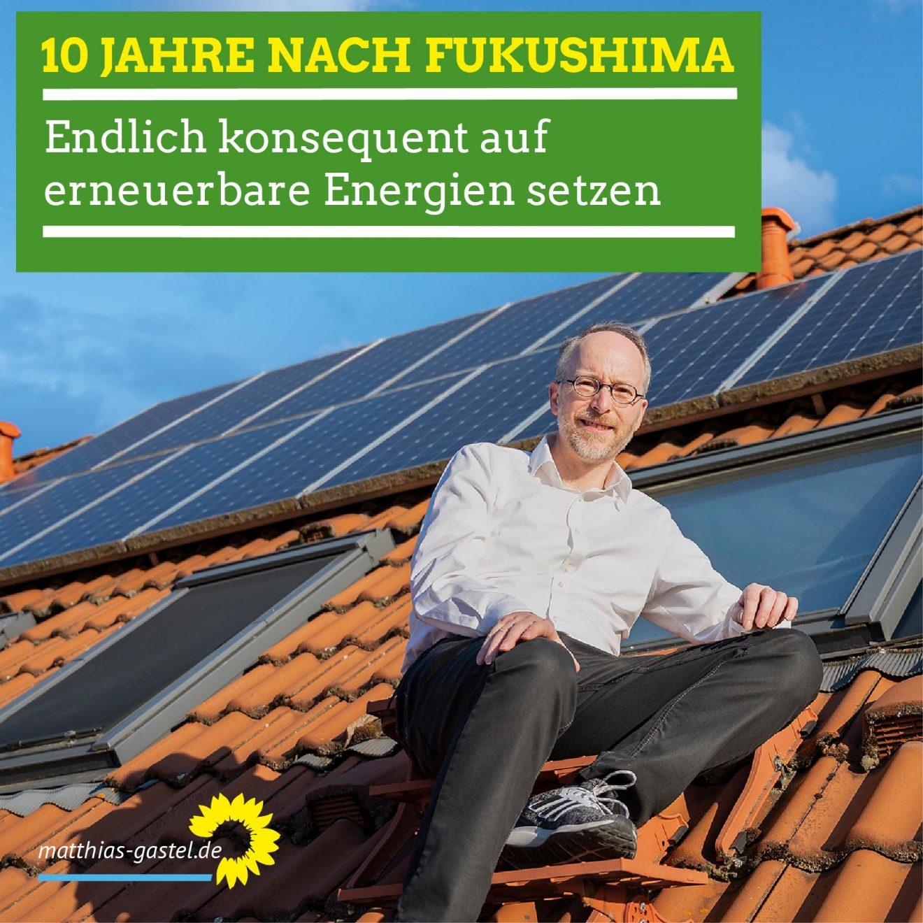 Sharepic 10 Jahre Fukushima