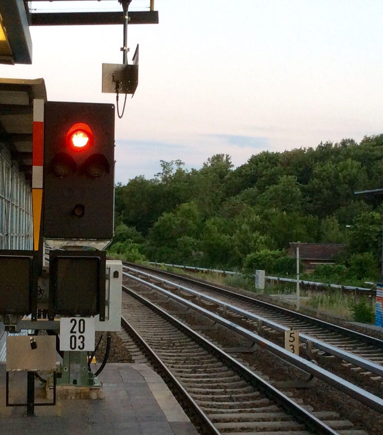 Rotes Signal