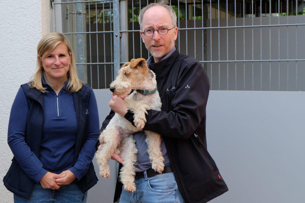 Hund im Tierheim mit Gastel Fotograf Uwe Janssen 1